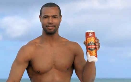 Old Spice commercial guy Isaiah Mustafa